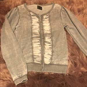 Sweaters - Ruched Cardigan